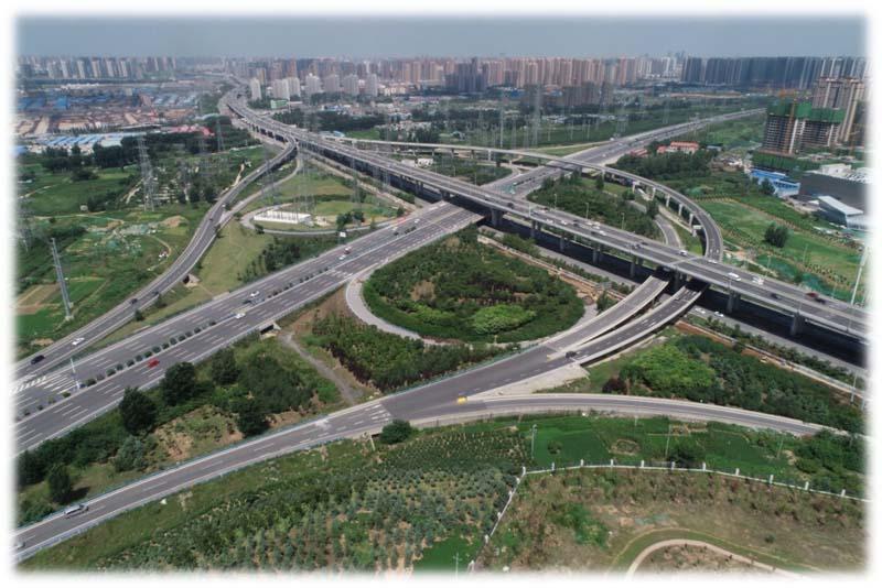 郑州机场高速公路改扩建工程(2016)