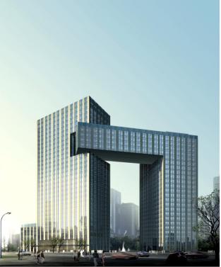 郑州国家干线公路物流港综合服务楼项目