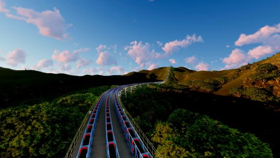 東至縣礦山皮帶廊道運輸專用線項目
