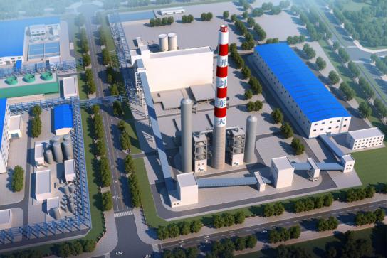 中國平煤神馬集團 開封精細化工產業園背壓機組供熱工程